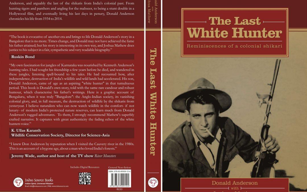 The last white hunter cover